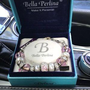 Bella Perlina breast cancer bracelet
